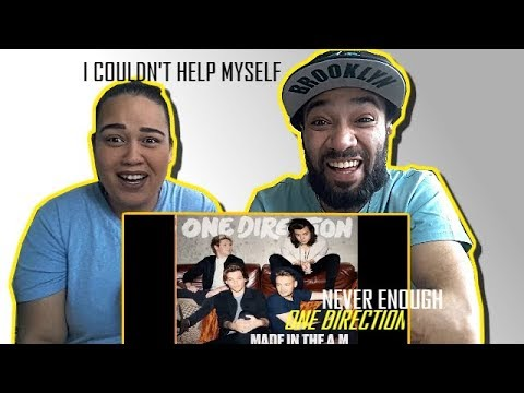 ONE DIRECTION - NEVER ENOUGH (OFFICIAL AUDIO) | REACTION