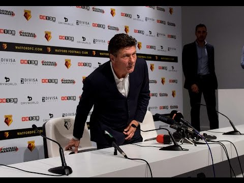 Walter Mazzarri's First Press-Conference 🎥