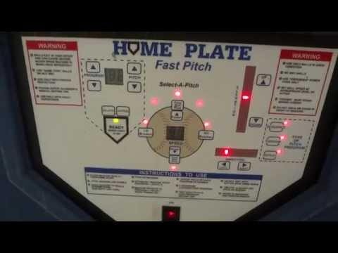 Homeplate Softball Pitching Machine (For Sale on Ebay)