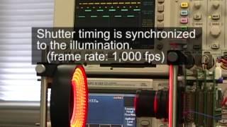 Illumination-Based Synchronization of High-Speed Vision Sensors