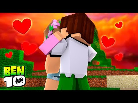 LITTLE KELLY HAS A NEW BOYFRIEND -Minecraft BEN 10 ADVENTURE w/ Tiny Turtle and Sharky