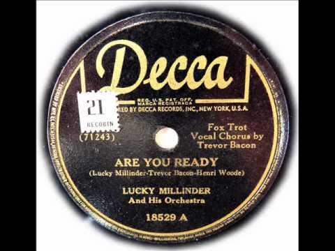 Are You Ready? Lucky Millinder Decca 18529 A 1942 78 rpm