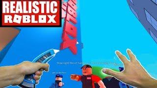 Realistic Roblox - ESCAPE ROBLOX HEADQUARTERS OBBY | ESCAPE ROBLOX HQ OBBY