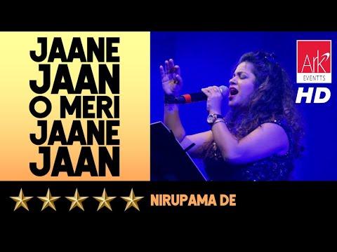 Jaane Jaan O Meri Jaane Jaan ::: Nirupama De ::: Jashn-E-Zindagi 2018
