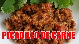 Authentic Puerto Rican Picadillo De Carne