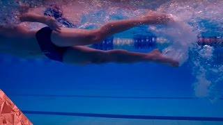 Swimming tutorial. Legs. Part 3. How to improve your Freestyle Swimming Technique | Stroke.