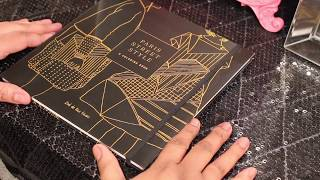 Coloring Book Flip-Thru: Paris Street Style