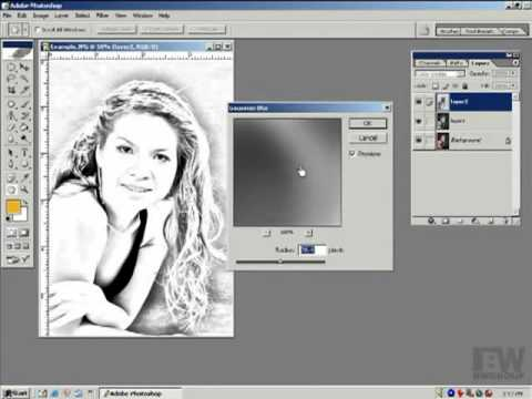 Photoshop CS2 - Phan 22 - Bai 7 - Bien anh thanh tranh