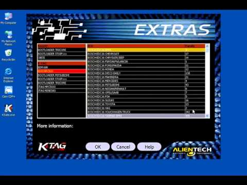 How to Use K TAG ECU Programming Tool   YouTube