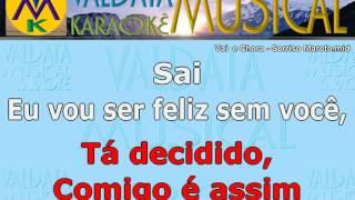 Vai e Chora Sorriso Maroto Karaoke