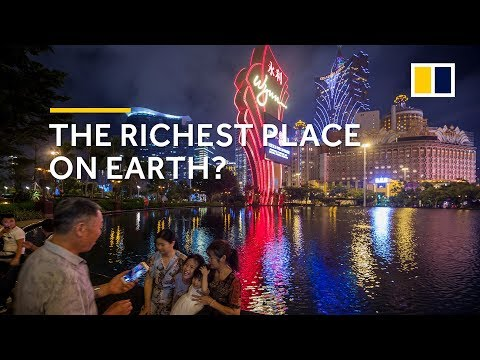 Macau ready to become richest place in the world by 2020