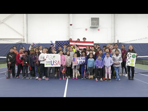 Team USA Support from the Billie Jean King National Tennis Center