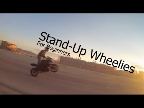 How To: Stand-Up Wheelies for Beginners