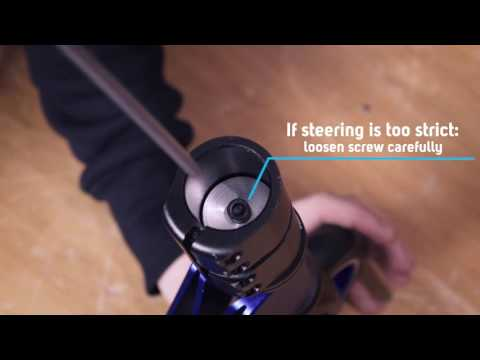 Micro Scooter repair: Micro Xtreme assembly