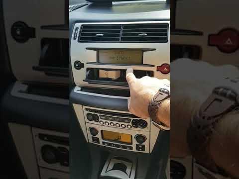 Citroen C4 Anahtar Arızası