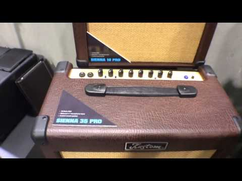 2014 Winter NAMM Show - Kustom Sienna Pro Series Acoustic Amplifiers