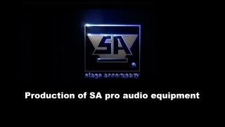 Stage Accompany - Production of SA pro audio equipment. Thumbnail
