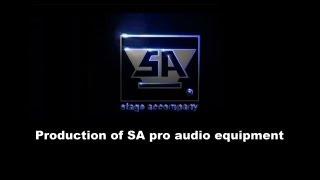 Stage Accompany - Production of SA pro audio equipment. Thumbnail