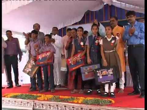 Gujarat CM attends Shala Pravesh Utsav at chanakyapuri ahmedabad Ahmedabad