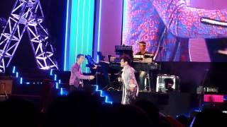 蕭敬騰 x 何韻詩 07072012異人世界演唱會 - 親密愛人