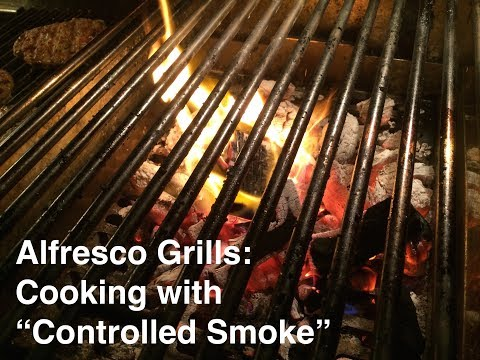 I Nearly Blew Up My Alfresco Grill Part 2 - Solid Fuel Insert