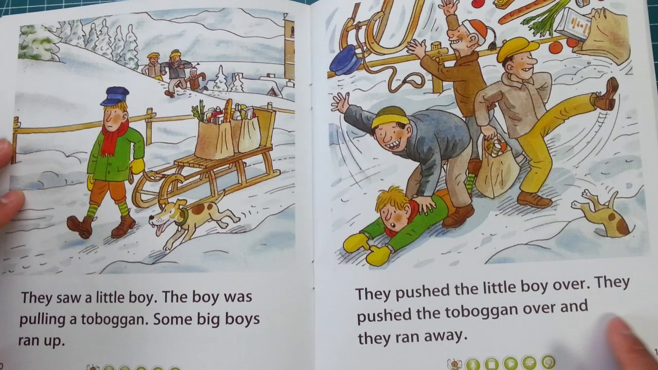 Village in the Snow/ oxford reading tree 5-6 David