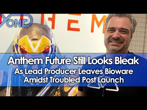 Anthem Future Still Looks Bleak As Lead Producer Leaves Bioware Amidst Troubled Post Launch