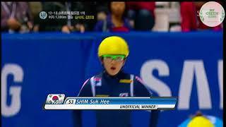 Gambar cover 2012-13 쇼트트랙 월드컵 1차 1000m 결승 심석희