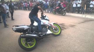 GNI bike stunts during ignit fest 2016