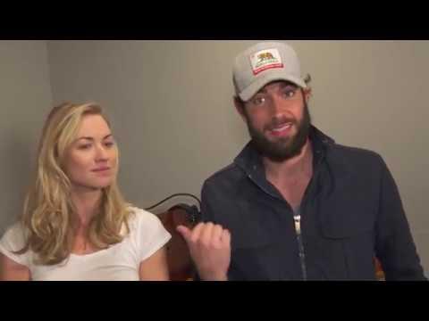 Zachary Levi & Yvonne Strahovski P 'Tangled' Season 2