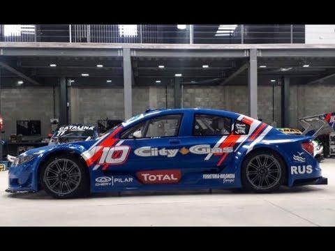 Los preparativos de Diego Azar para el Top Race en La Plata