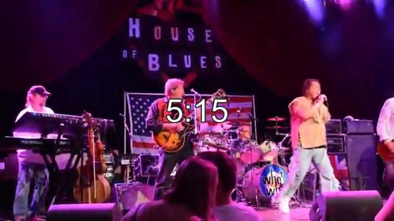 the who's who band promo video -- house of blues chicago - youtube