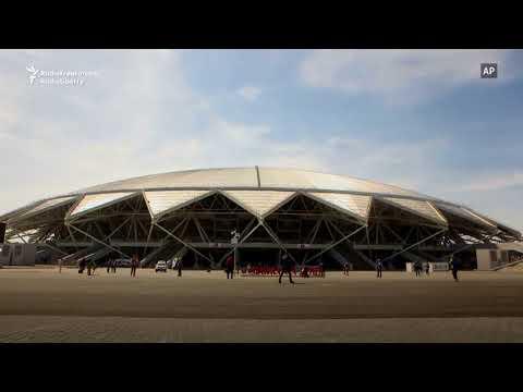 Renovări de mântuială la Samara înainte de Cupa Mondială la fotbal