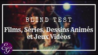 BLIND TEST : Films, Séries, Dessins Animés et Jeux Vidéos - 100 Extraits