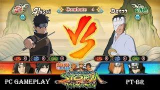 NARUTO SHIPPUDEN Ultimate Ninja STORM Revolution Uchiha Shisui vs Danzo - PC Gameplay