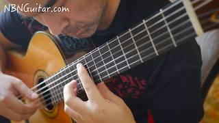 Gran Vals 'The Nokia Tune' | Francisco Tarrega | NBN Guitar