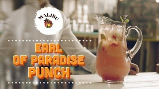 How To Mix An Earl Of Paradise Punch