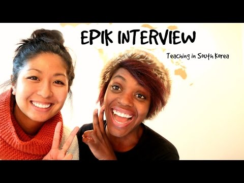 Epik Interview teaching in South Korea
