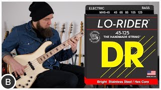 DR BASS STRINGS | Hi-Beams, Sunbeams, Pure Blues & Lo-Rider