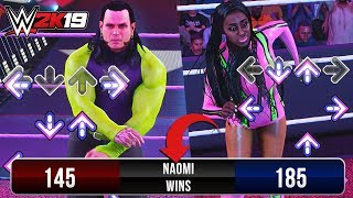 WWE 2K19 What Happens If You LOSE The Dance Off Against Naomi?