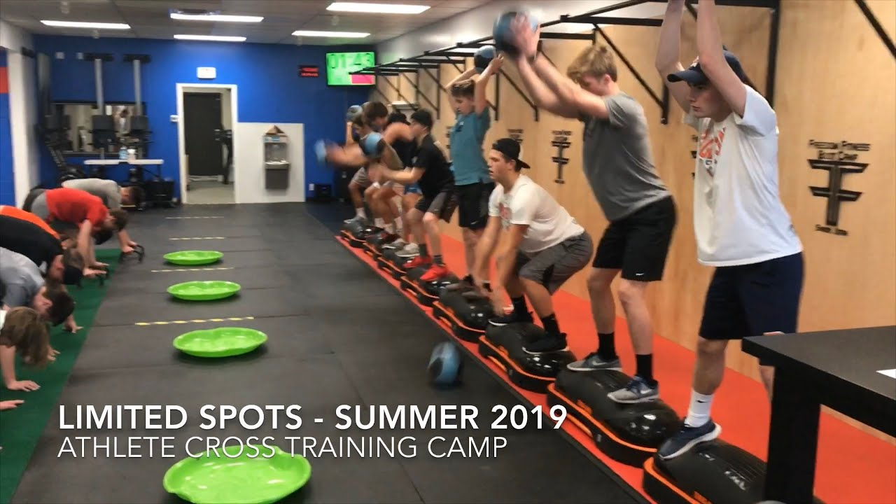 Summer 2019 - Boys & Girls Athlete Cross Training Camp - YouTube