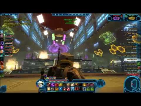 SWTOR pvp lvl 43 Commando Void Star/Hutt Ball