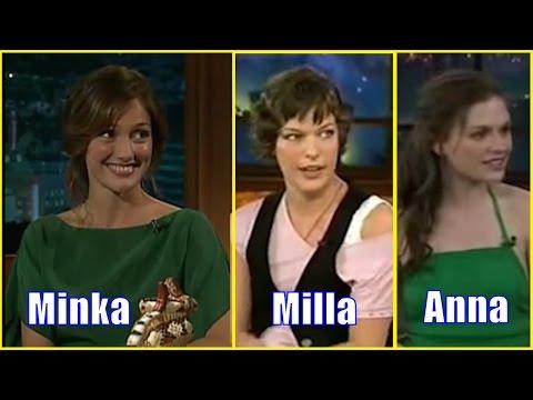 Minka Kelly, Milla Jovovich & Anna Paquin - Unusual Guests #3 - [240-360]