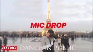 [KPOP DANCE IN PUBLIC PARIS] BTS (방탄소년단) - MIC DROP (Steve Aoki Remix ver.) by Davidttng