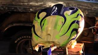 Video Custom Harley. Airbrushing candy flames over marblizer download MP3, 3GP, MP4, WEBM, AVI, FLV Mei 2018