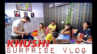 Surprise For Khushi | Vivek Choudhary | Khushi punjaban