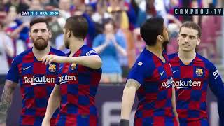 Barcelona vs Granada 4-3 - All Goals & Extended Highlights - 2020