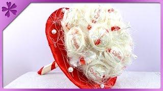 DIY Raffaello bouquet (ENG Subtitles) - Speed up #87