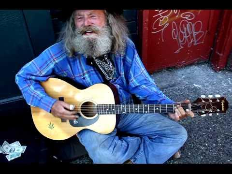 old Country Man Blues Berkeley Telegraph street