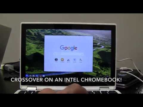 CrossOver on Google Chromebook - It Just Works